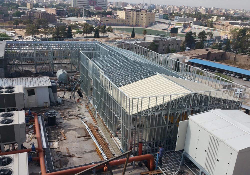 پروژه بیمارستان مهرگان